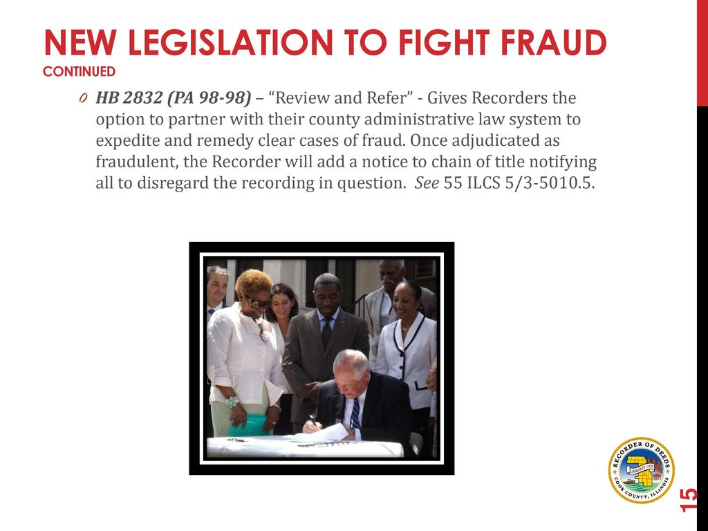 Deeds Helping Victims Fight Property FRAUD