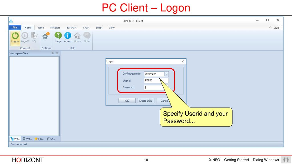 How to use XINFO Windows PC Client - ppt download