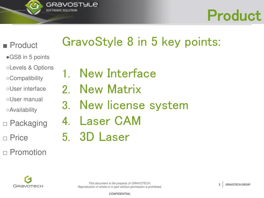 gravostyle 8 detailed launch presentation ppt video online download rh slideplayer com gravostyle 7 manual pdf GravoStyle 6 Software
