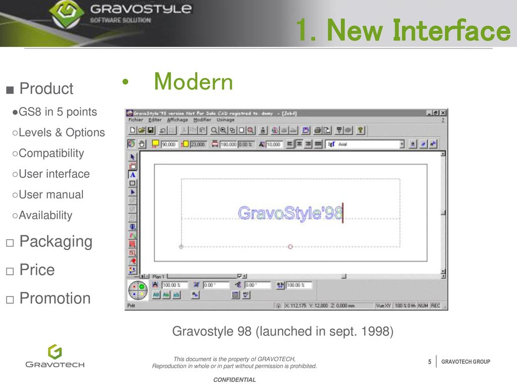 gravostyle 8 detailed launch presentation ppt video online download rh slideplayer com gravostyle 7 user manual gravograph 7 manual