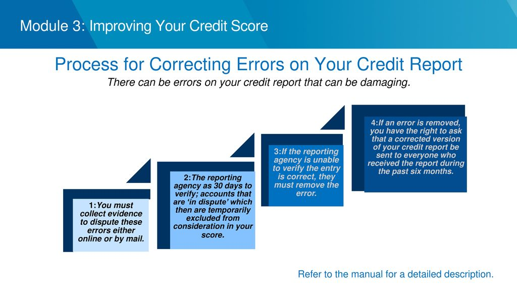 3 Credit Reporting Agencies >> Objectives Reviewing Your Credit Report Understanding Your