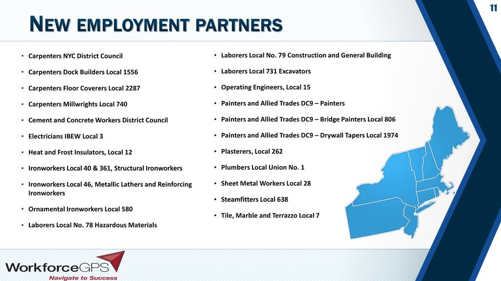 New employment partners