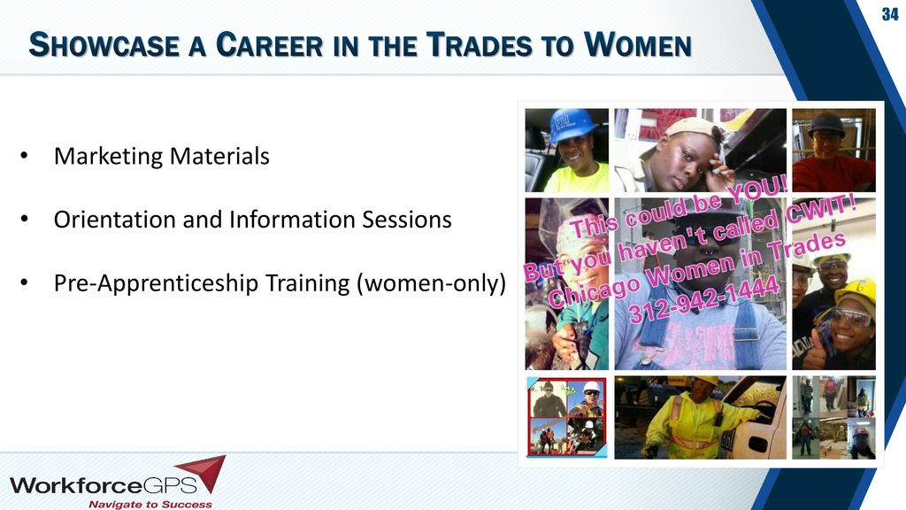 Showcase a Career in the Trades to Women