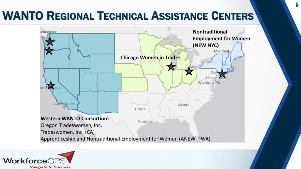 WANTO Regional Technical Assistance Centers