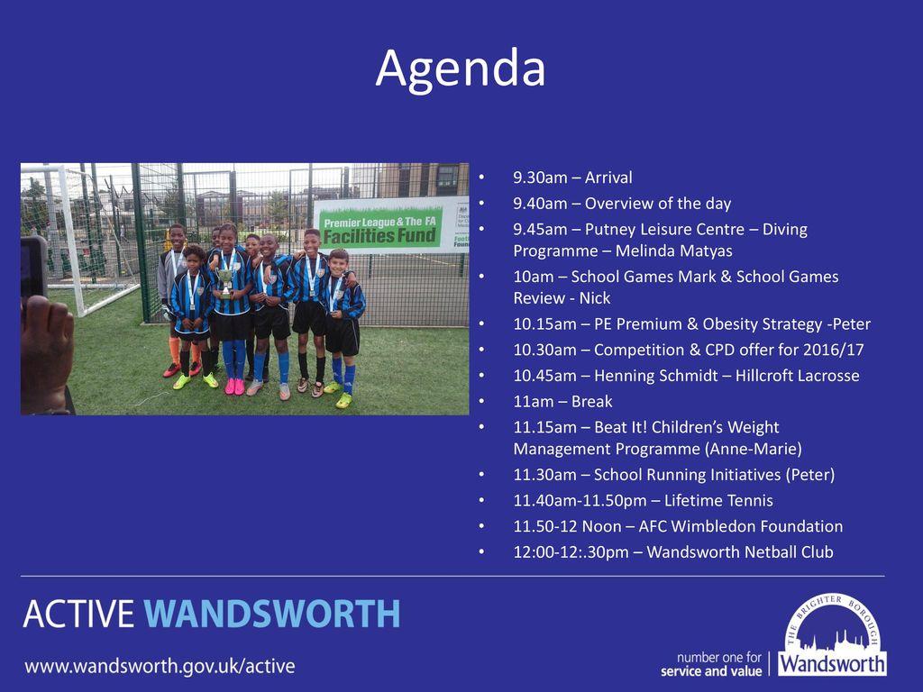 Active Wandsworth Primary PE Forum –September ppt download