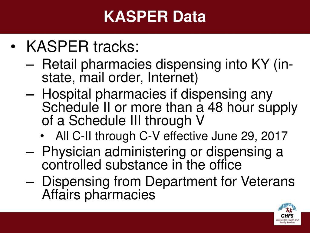 Prescription Electronic Reporting System (KASPER) - ppt video online