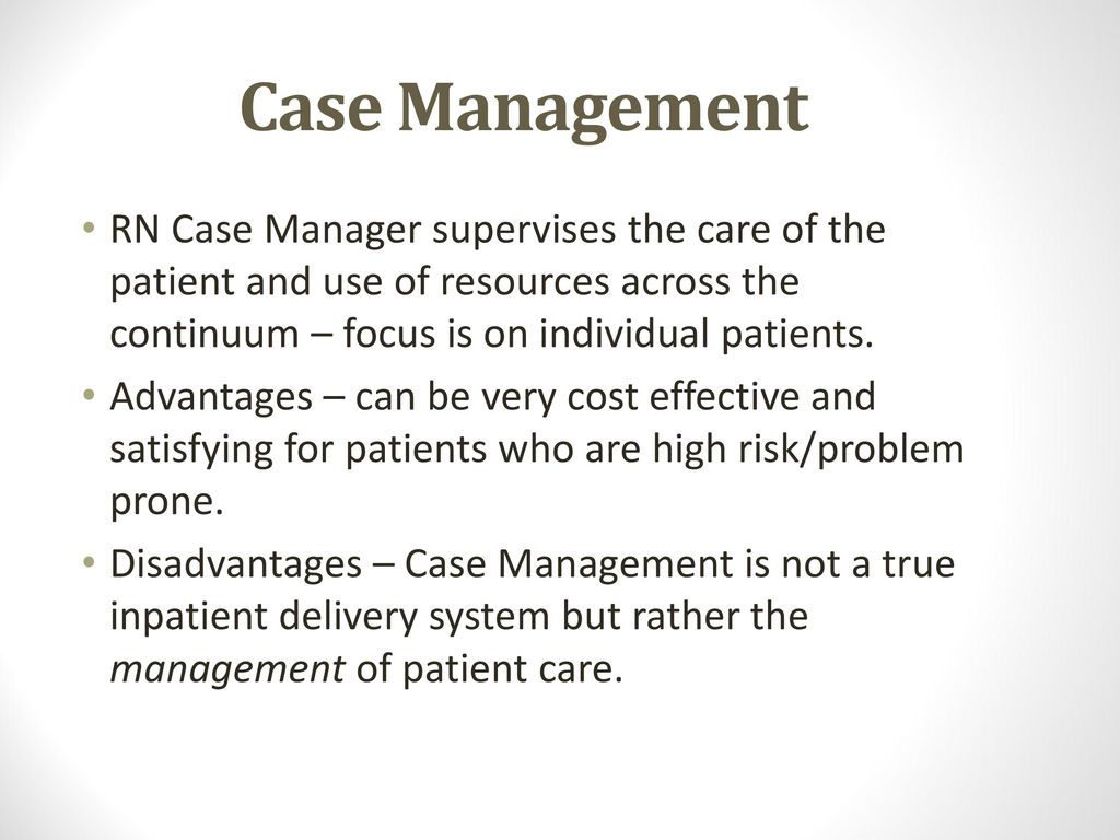 patient care delivery system