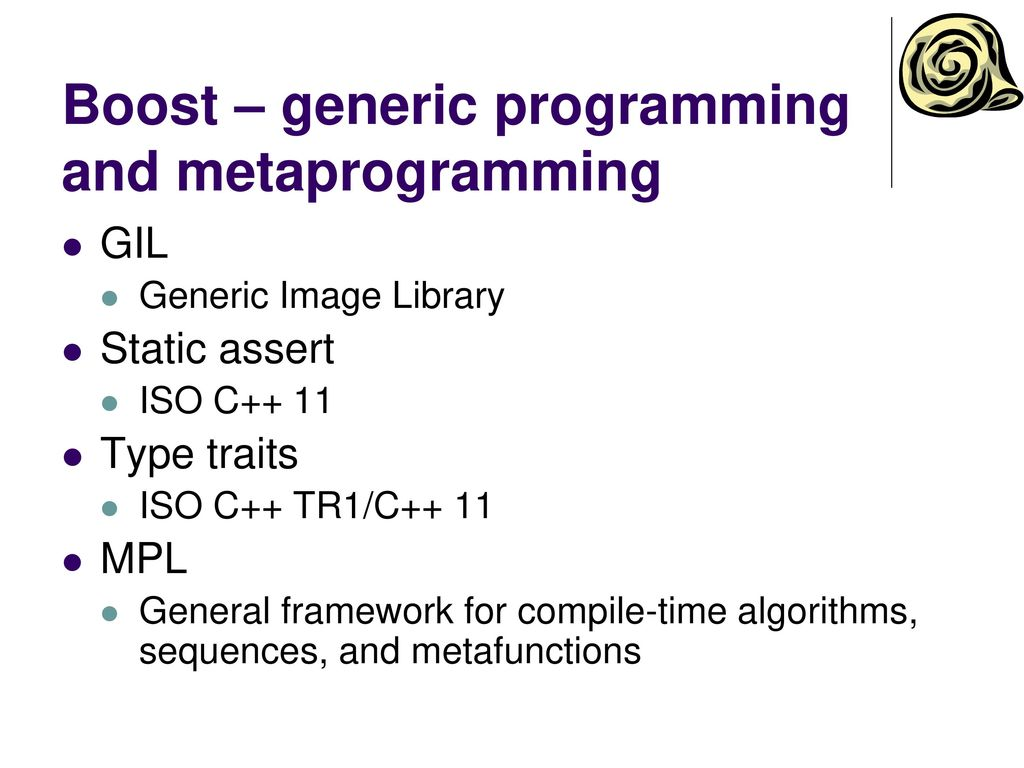 C++ - external libraries and OS interfaces - ppt download