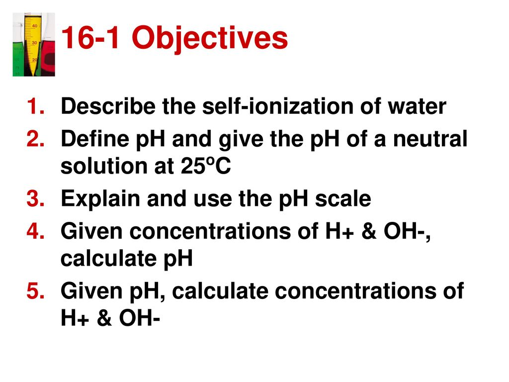 ph scale and calculations homework 15.3