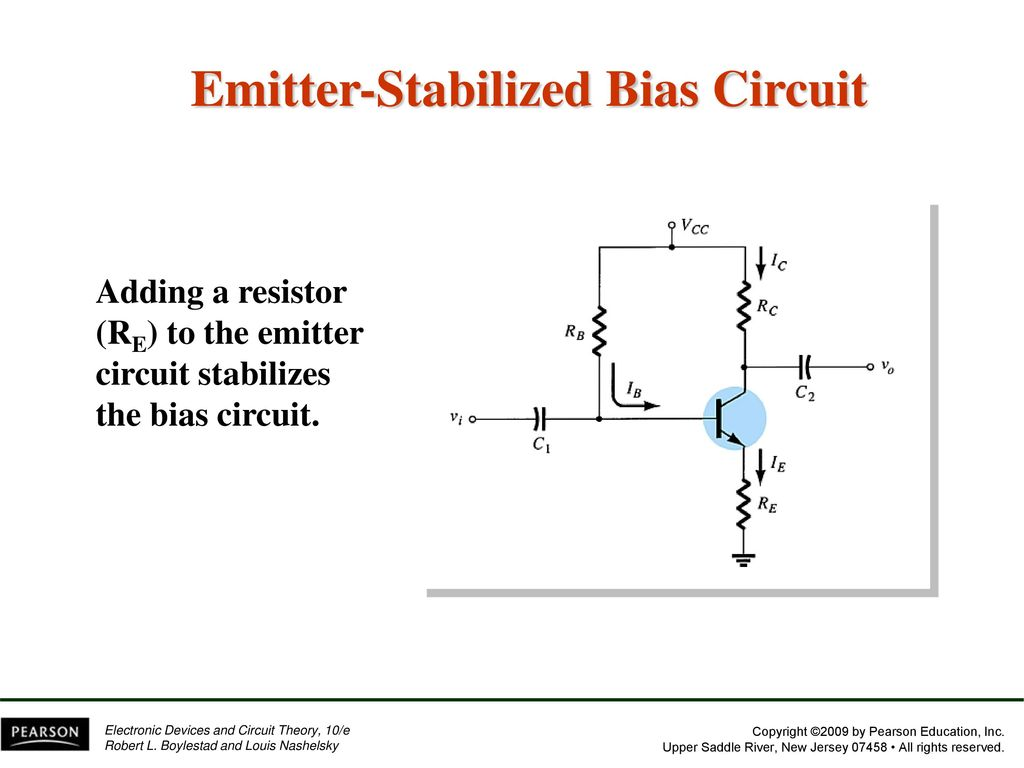Chapter 4 Dc Biasingbjts Ppt Download Pearson Education Electronic Devices And Circuit Theory New Emitter Stabilized Bias