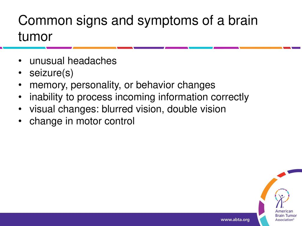 Brain Tumor 101 Presented by [NAME] - ppt download
