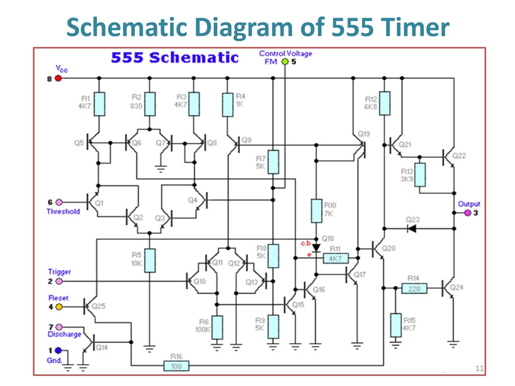 555 Timer Multivibtrator Ppt Download Circuit Further Long Duration On Off Delay 11 Schematic Diagram Of