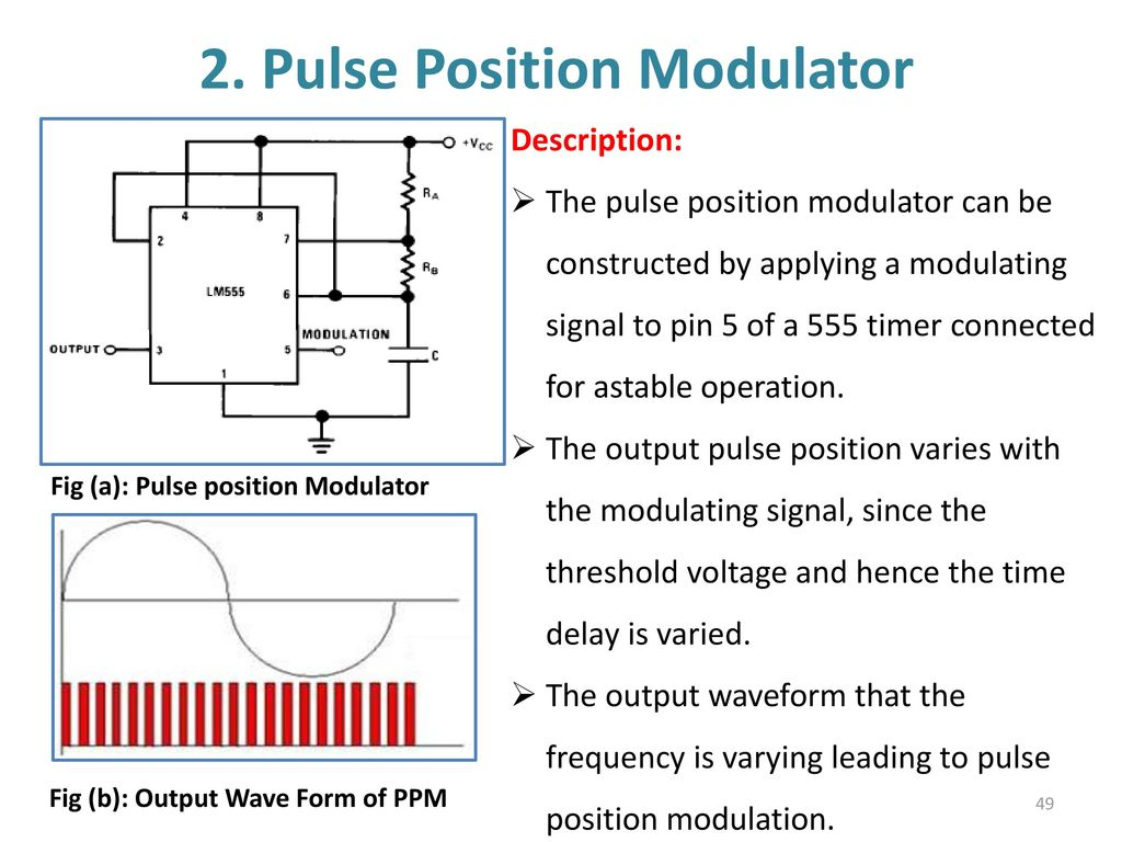 555 Timer Multivibtrator Ppt Download Circuit Further Long Duration On Off Delay 49 2