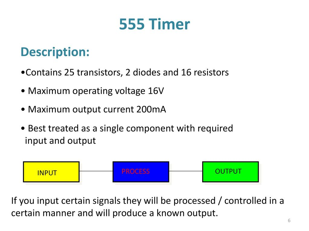 555 Timer Multivibtrator Ppt Download Related Circuits Simple Led Flasher One Transistor 6 Description Contains 25 Transistors