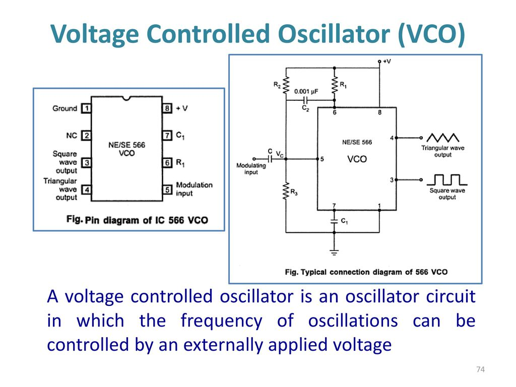 Voltage Controlled Oscillator Vco Using 555 Timer Ic The Control 555timervoltagecontrolledoscillator 74