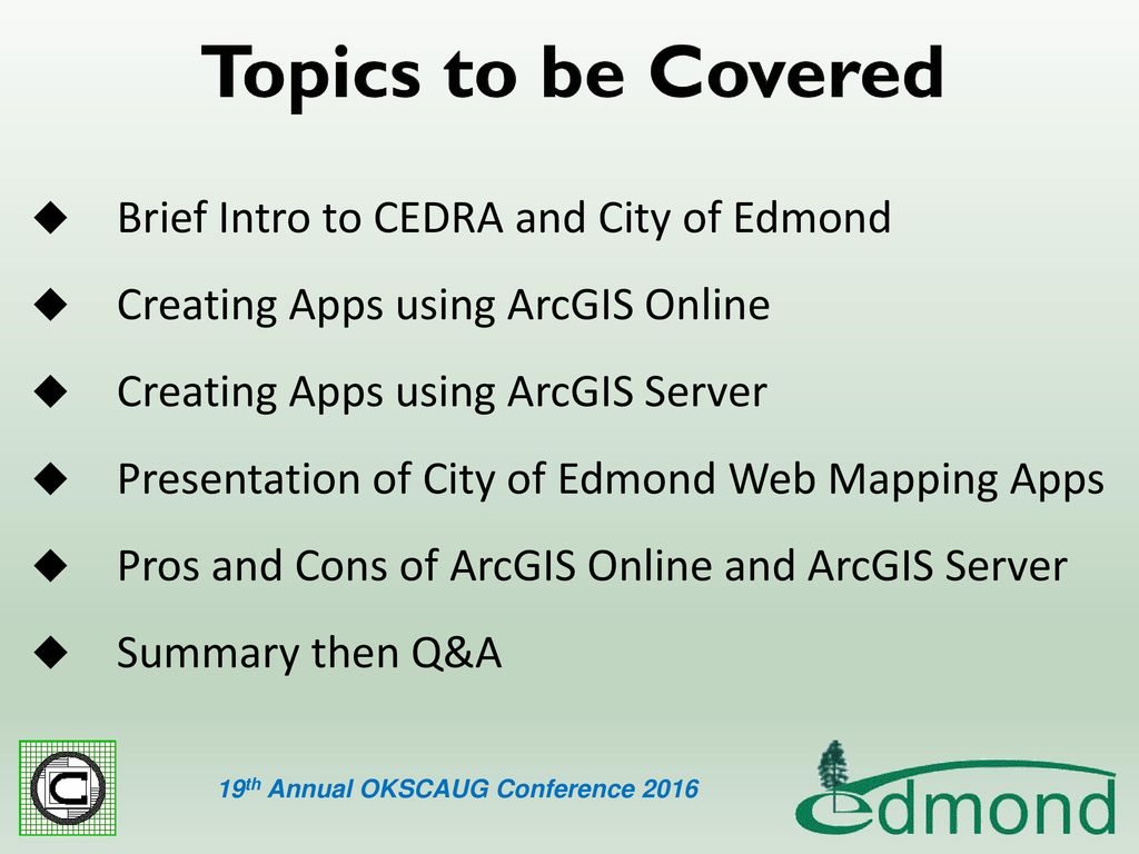 Developing ArcGIS Web Mapping Applications - ppt download