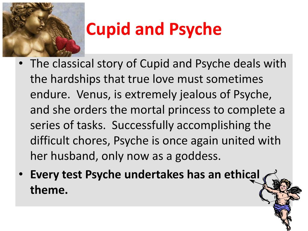 cupid and psyche theme