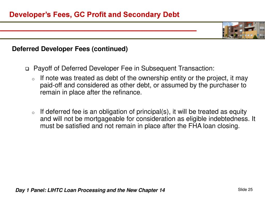 LIHTC Loan Processing and the New Chapter ppt download
