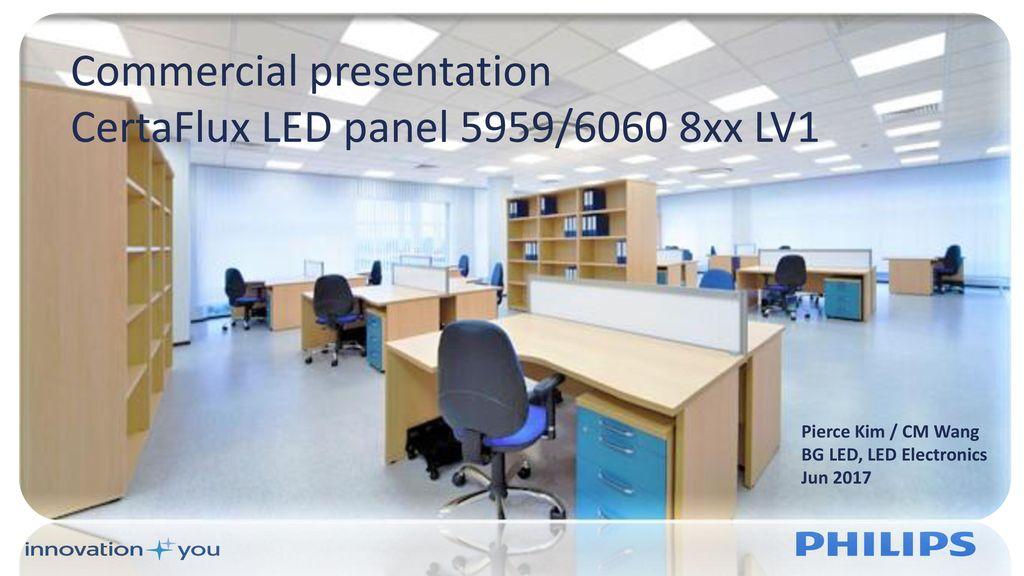 online store 1c038 c6bd7 Commercial presentation CertaFlux LED panel 5959/6060 8xx ...