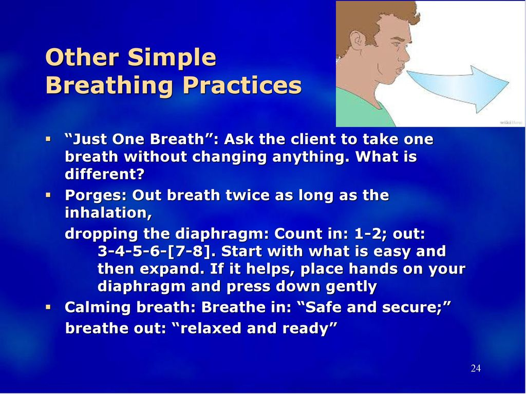 Other Simple Breathing Practices