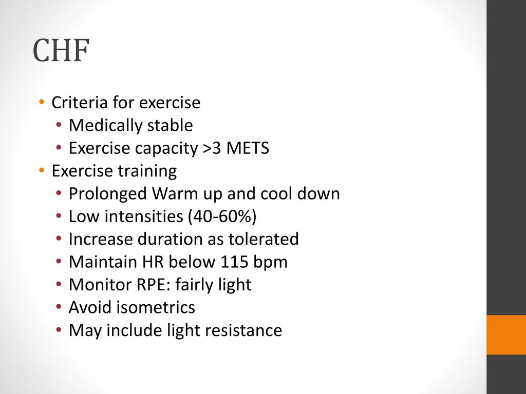 Cardiac Rehabilitation and Exercise Prescription - ppt video online