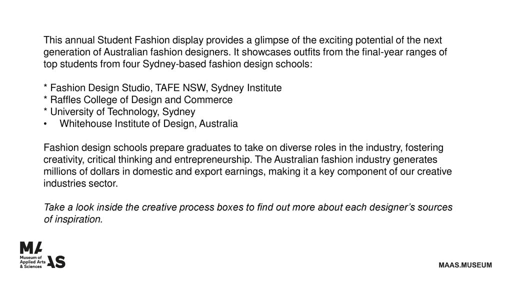 Student Fashion Ppt Download
