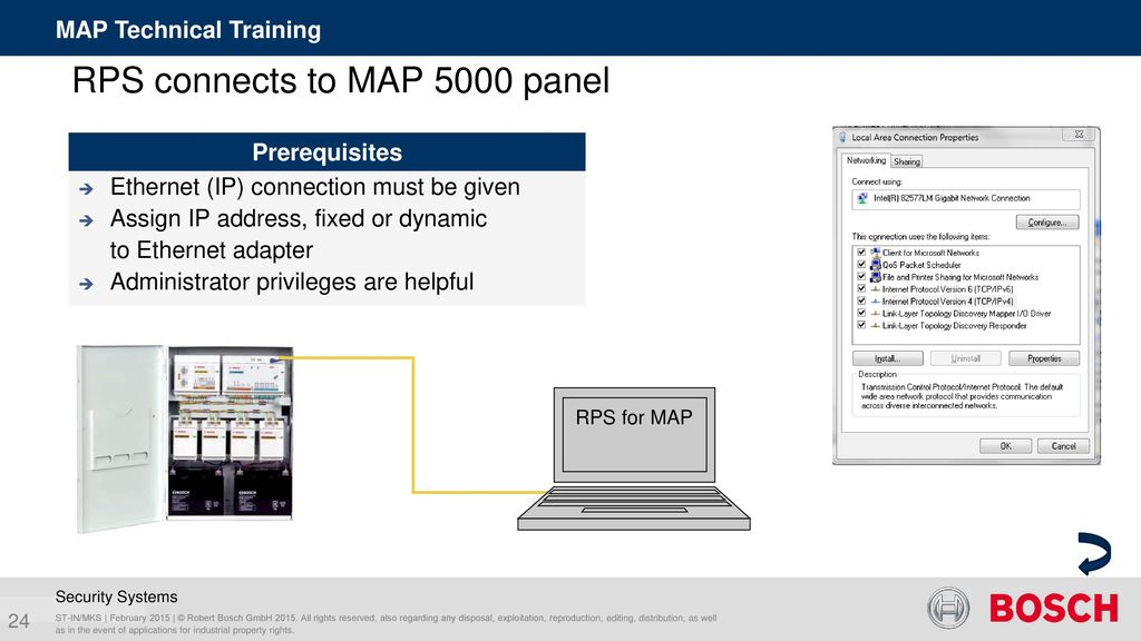 Agenda MAP Technical Training Configure MAP 5000 system Area