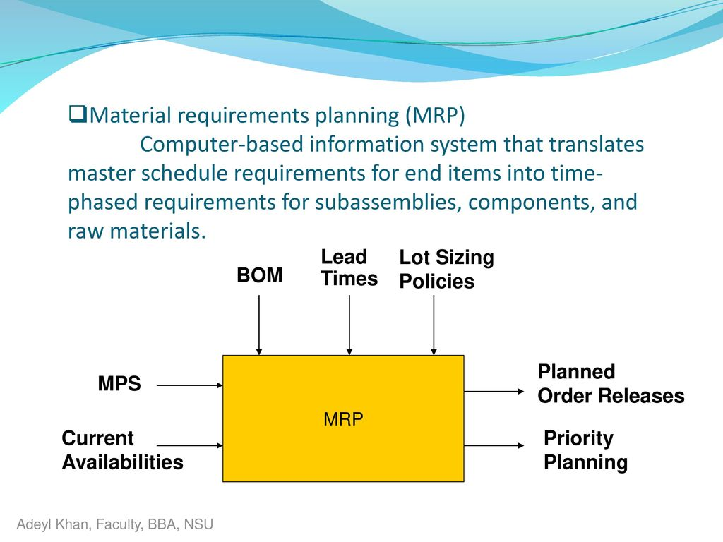 material requirements planning at a cat corp The 5 ft aisle width should be considered a minimum because of the requirements of the  of each material or piece of  research laboratory.