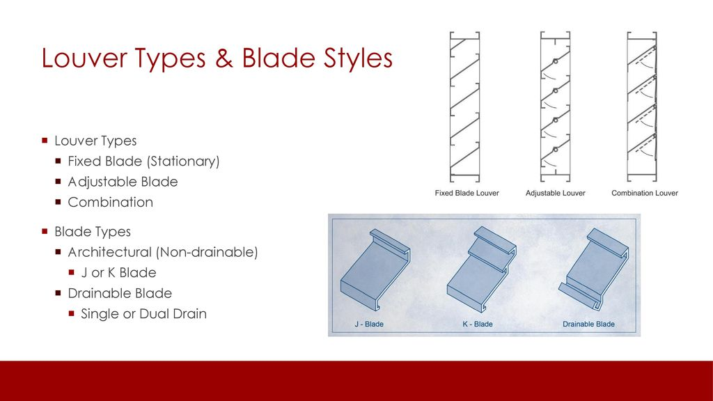 Basics and Fine Points of Commercial-Building Louvers - ppt