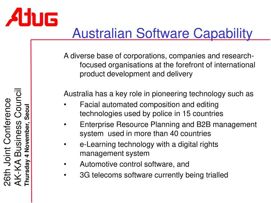 Australia Korea ICT Developments - ppt download