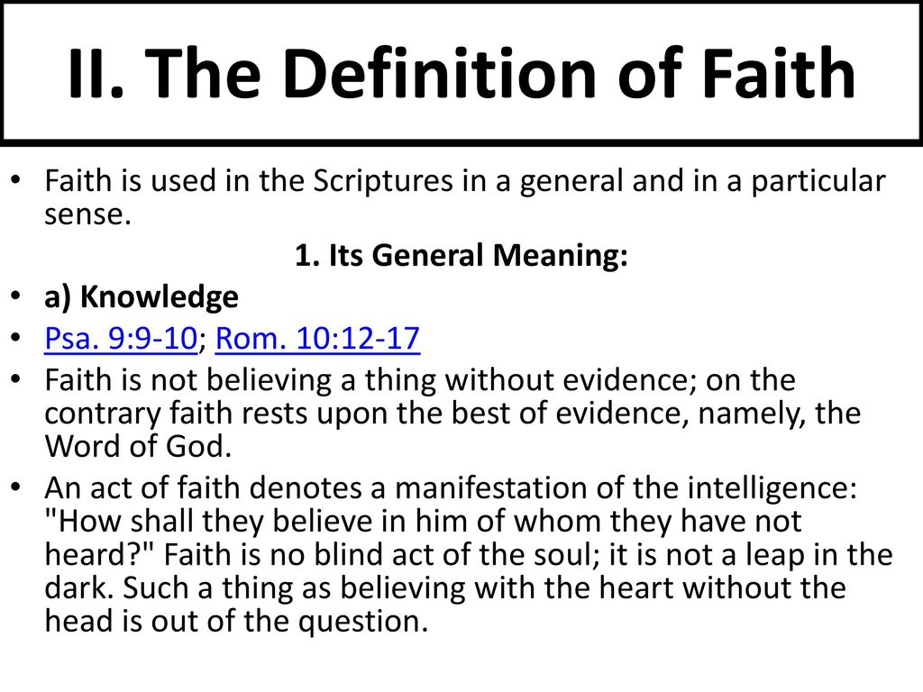 building our faith part 3 the great doctrines of the bible - ppt