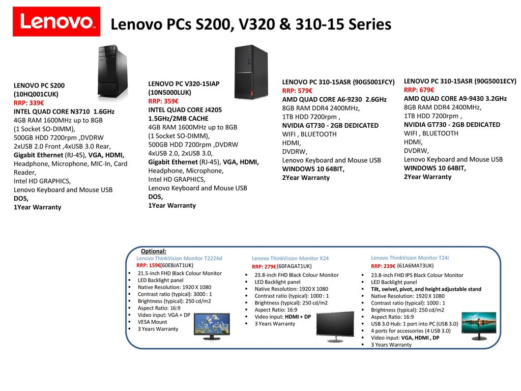 Lenovo Consumer PCs & All in One PCs - ppt download
