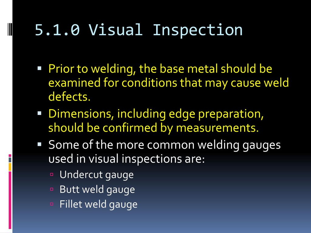 Weld Quality Level 1-Chap ppt download