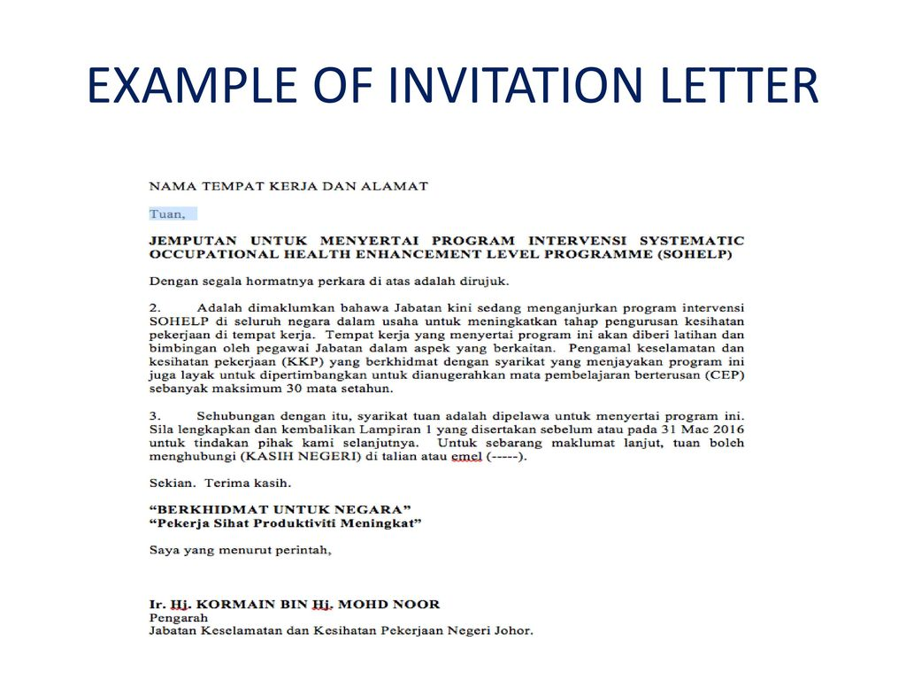 Contents what is sohelp why sohelp who is involved ppt download 26 example of invitation letter stopboris Image collections