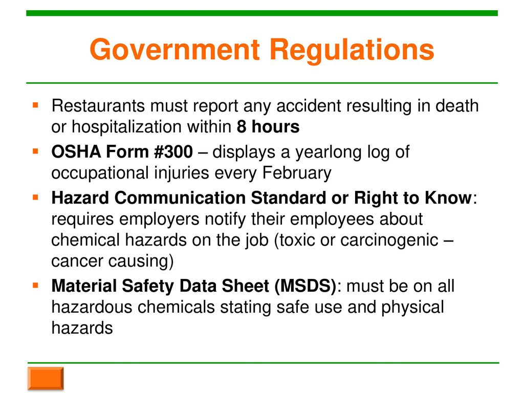 Chapter 3 Workplace Safety. - ppt download