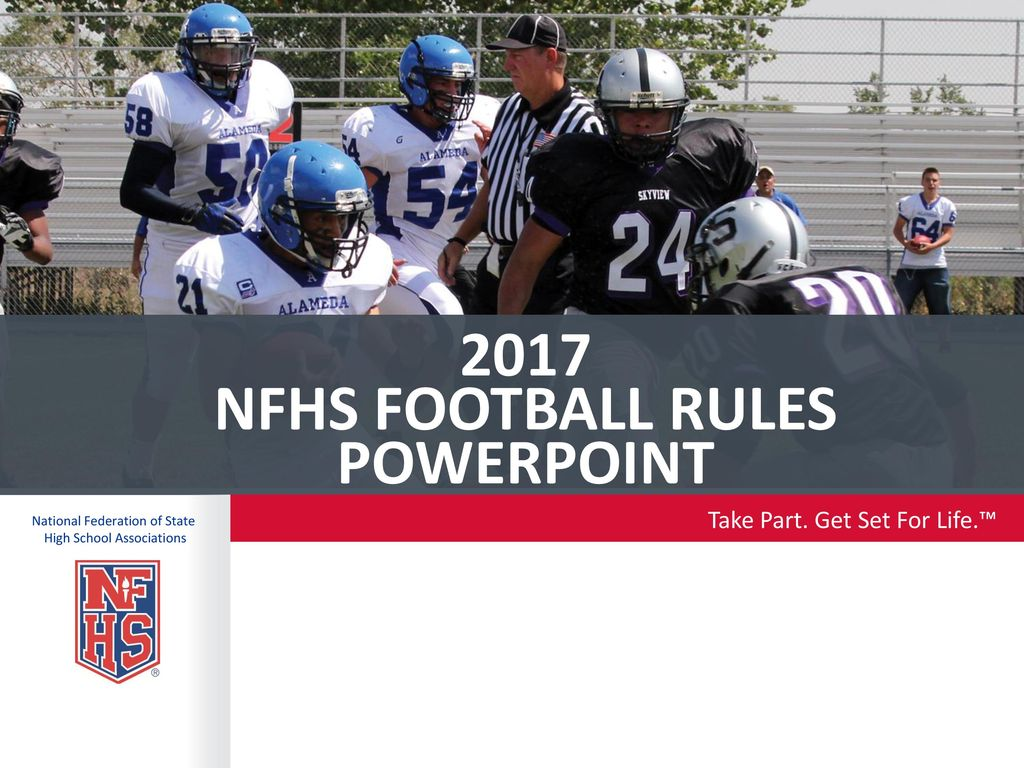 2017 NFhs football rules POWERPOINT