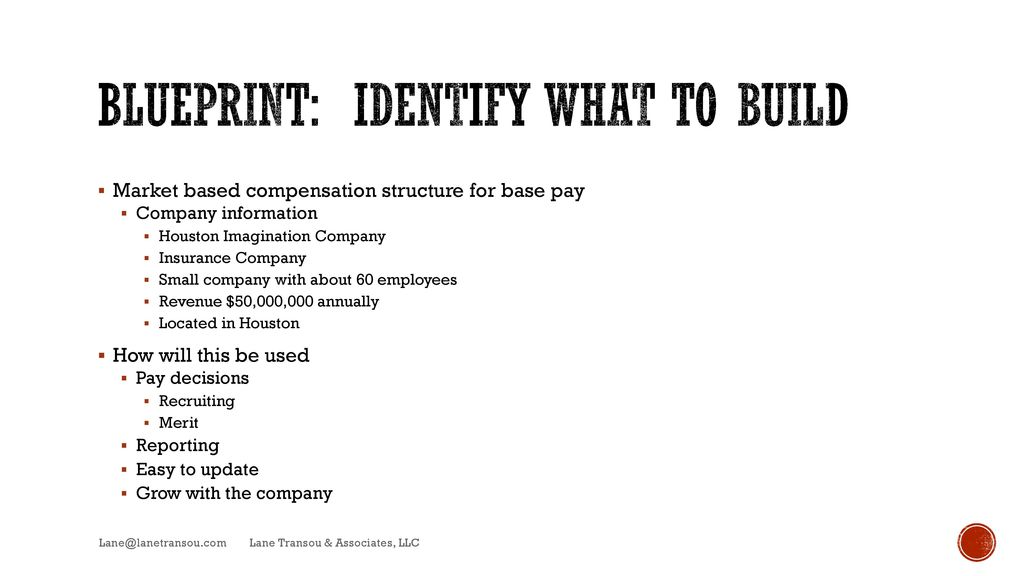 Do it yourself compensation ppt video online download 3 blueprint malvernweather Images