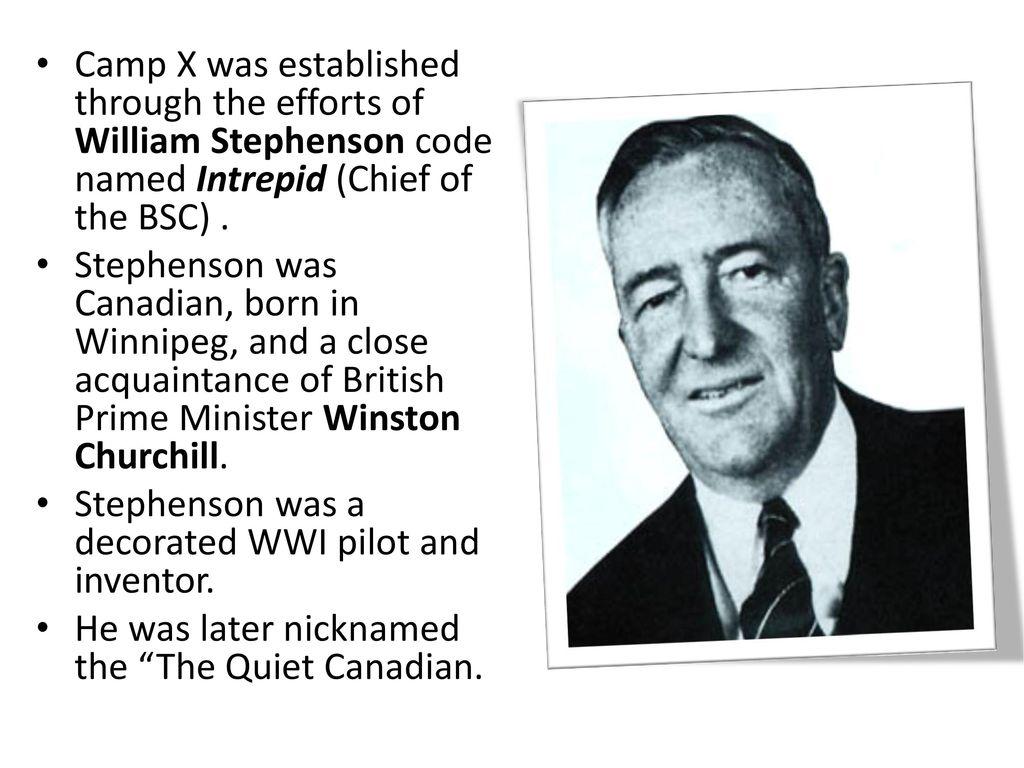 Image result for william stephenson camp x