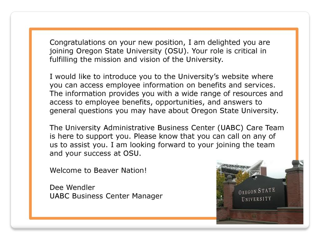 Welcome to beaver oregon state university ppt download 2 congratulations fandeluxe Image collections