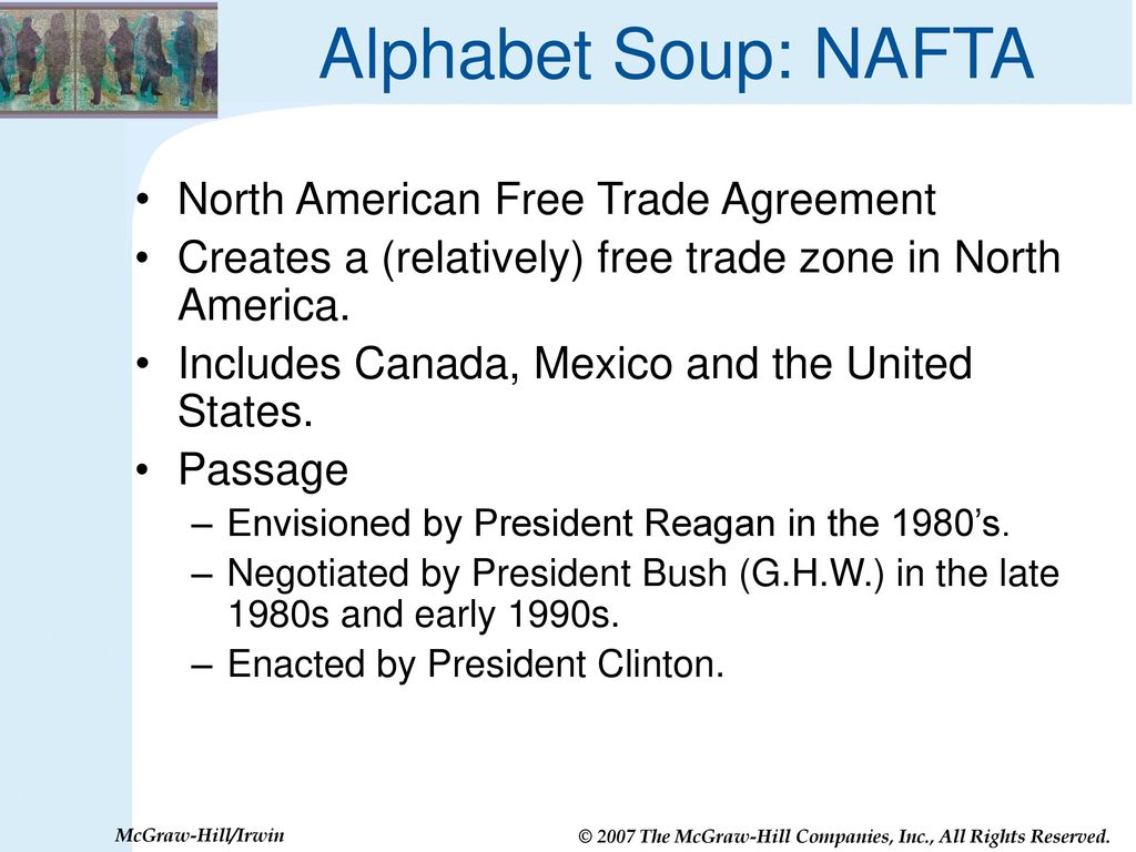 Nafta Cafta Gatt Wto Are Trade Agreements Good For Us Ppt