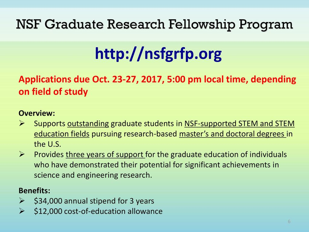 graduate fellowships and dissertation Graduate school doctoral dissertation completion grants program summary the doctoral dissertation completion grant program provides both funding and intensive.