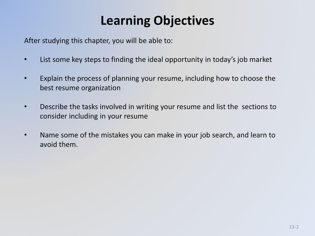 Chapter 13 Building Careers And Writing Resumes Ppt Download