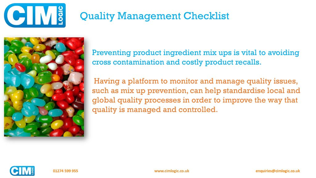 ups quality management