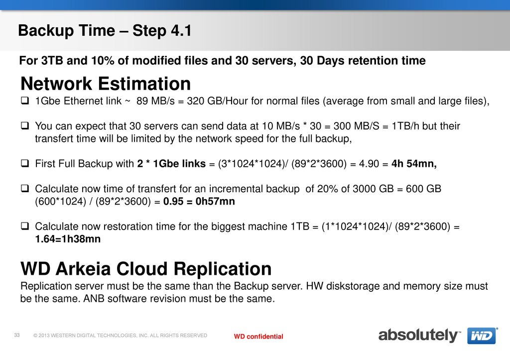 WD Arkeia Network Backup v10 Training by Thierry LAMANT