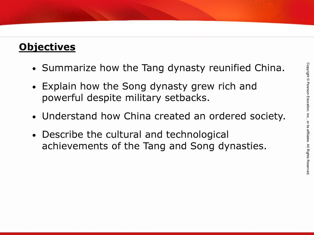 tang dynasty inventions and achievements