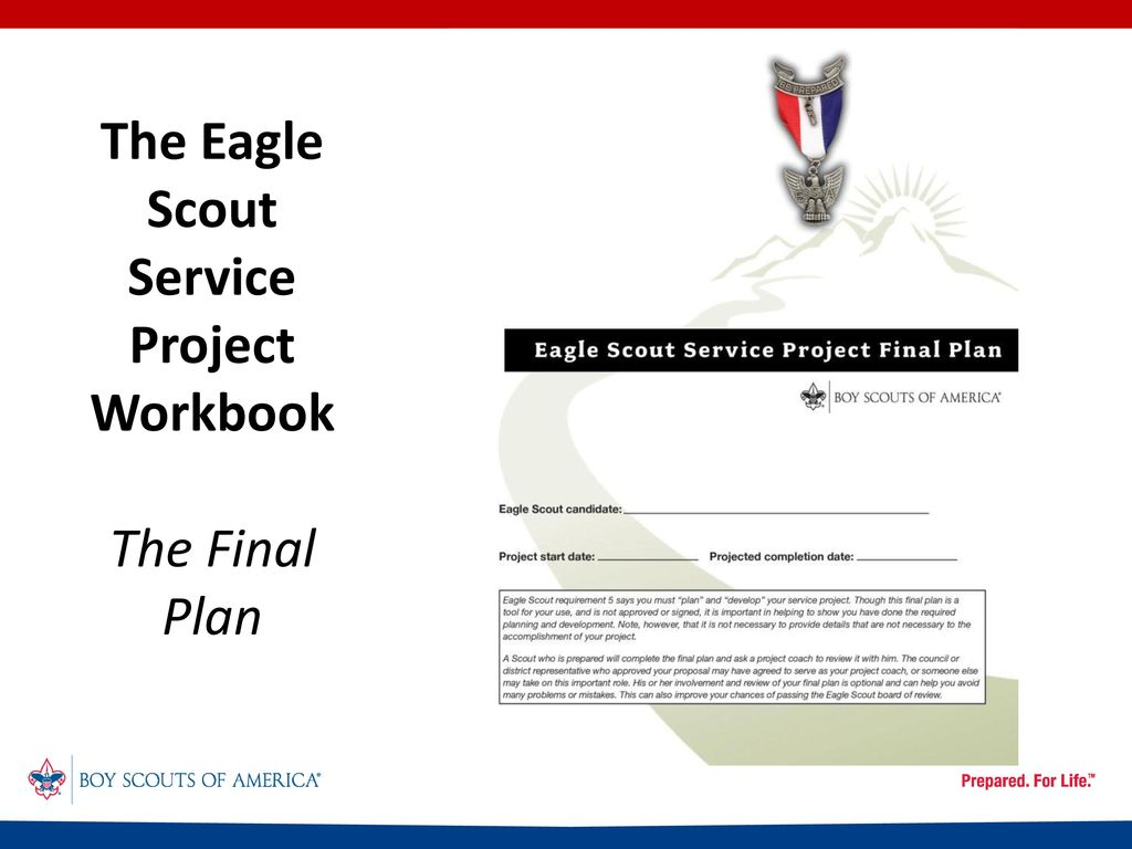 Workbooks eagle scout service project workbook : What's New in Advancement? - ppt download