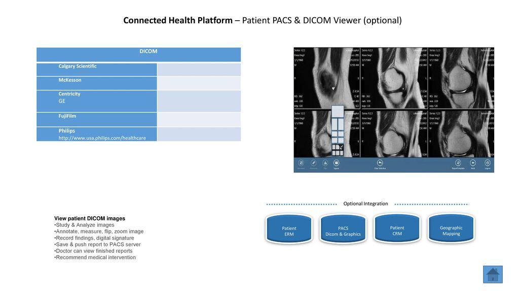 Connected Health Platform - Overview - ppt download