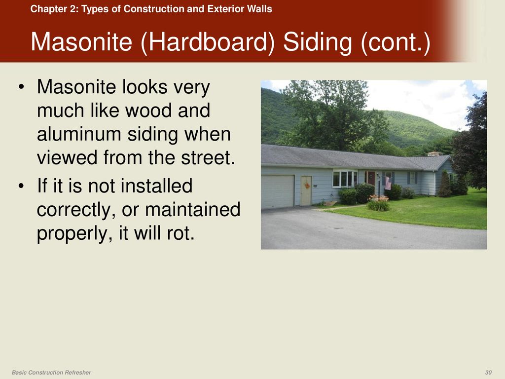 Types of Construction and Exterior Walls - ppt video online