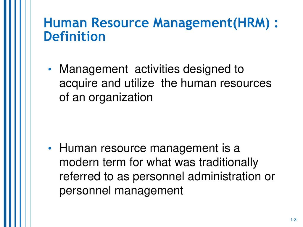 human resource management: a strategic function - ppt download