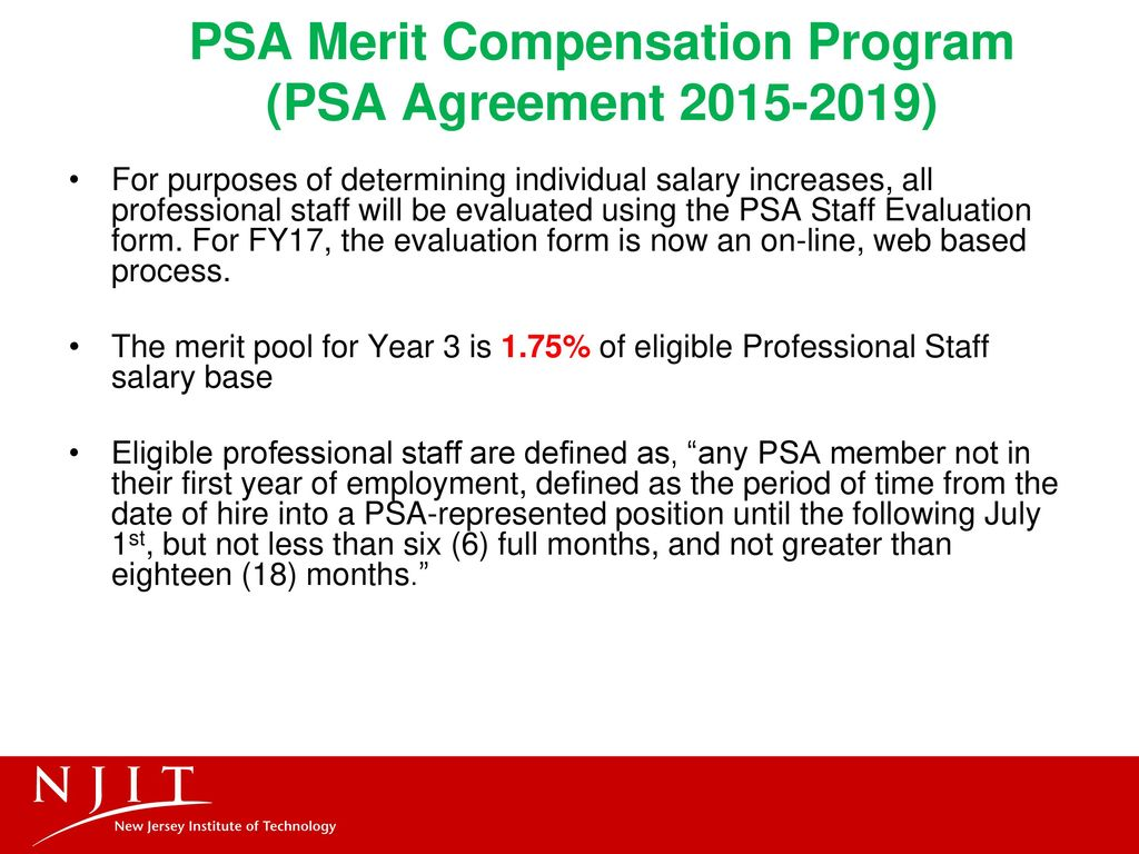 Psa Performance Management And Merit Program Training Ppt Download